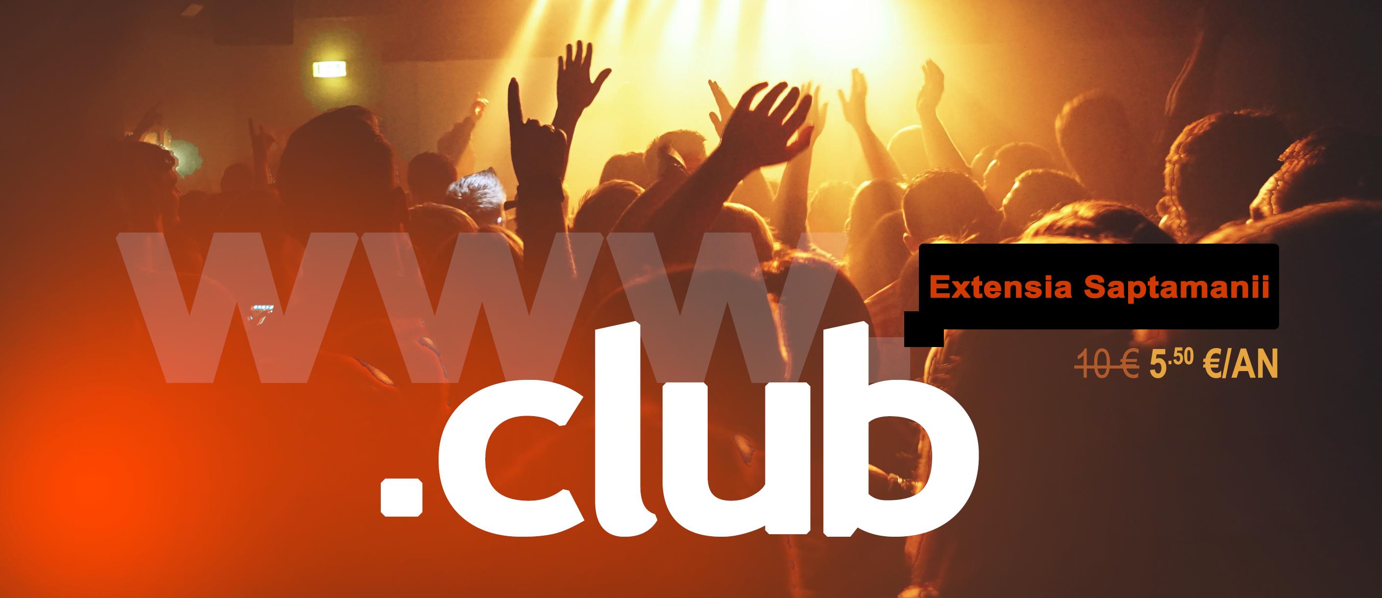 inregistrare domeniu .club